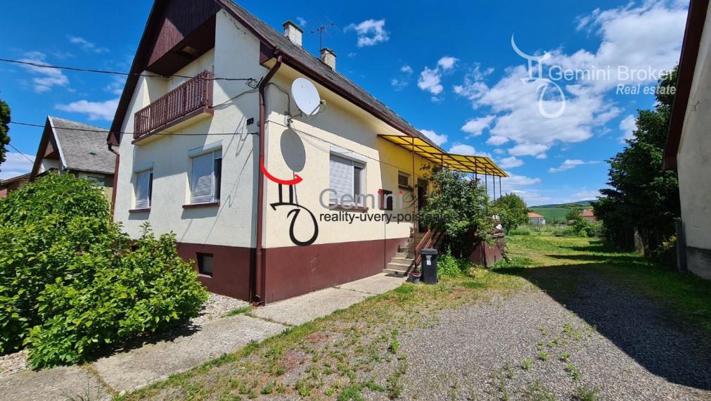 GEMINIBROKER v obci Vizsoly ponúka 4 izbový poschodový dom na okamžité bývanie