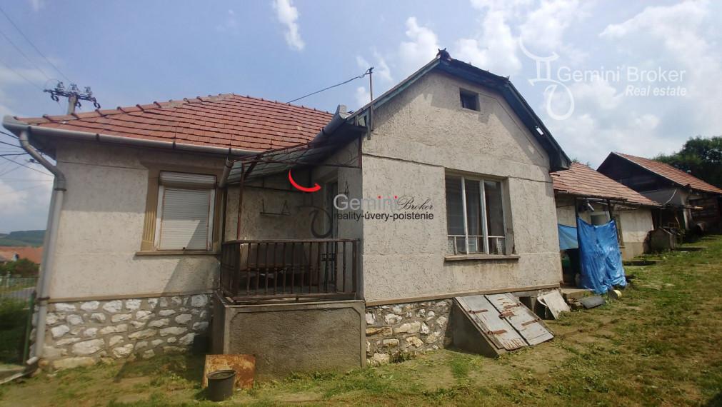 GEMINIBROKER Vám ponúka dom vhodný na rekonštrukciu v obci Felsőtelekes