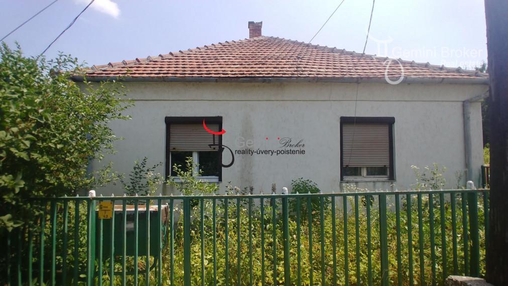 GEMINIBROKER Vám ponúka lacný dom v obci Felsőtelekes