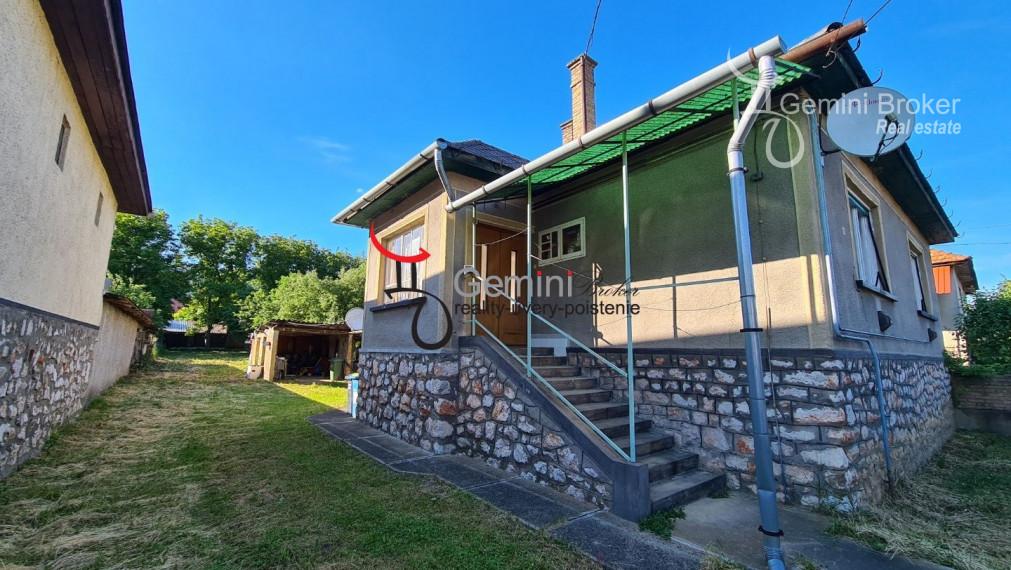 GEMINIBROKER v BÓDVASZILAS ponúka rodinný dom vo výbornom stave vhodný aj na okamžité bývanie